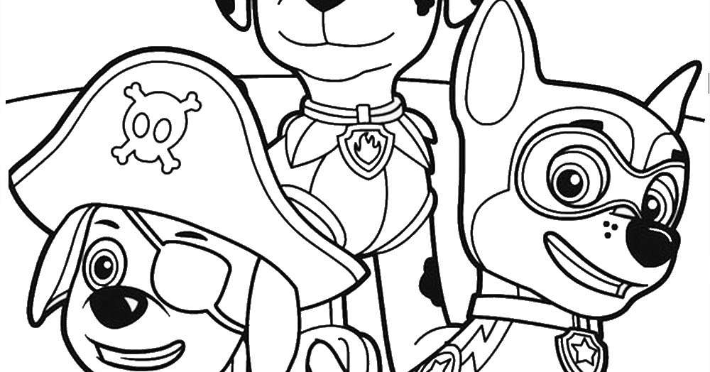 Nick Jr PAW Patrol Coloring Pages 29