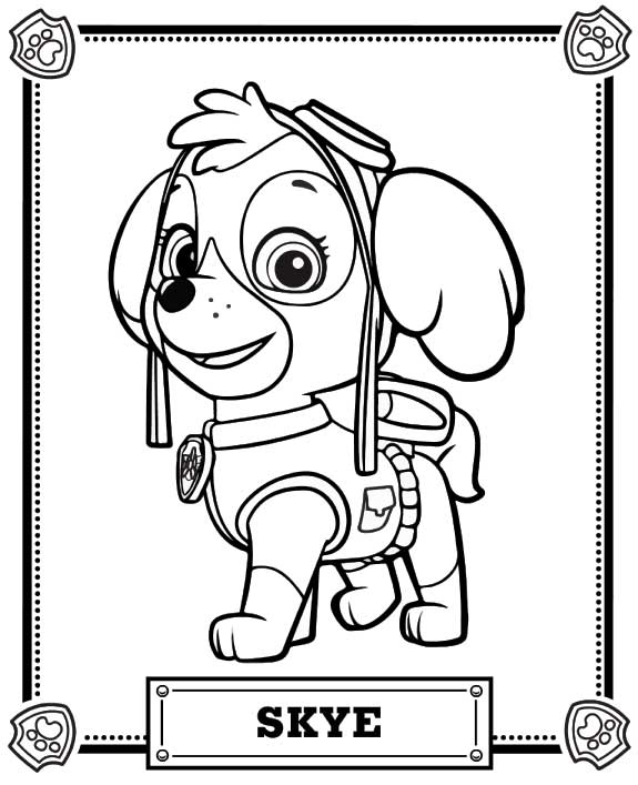 PAW Patrol Coloring Pages 14