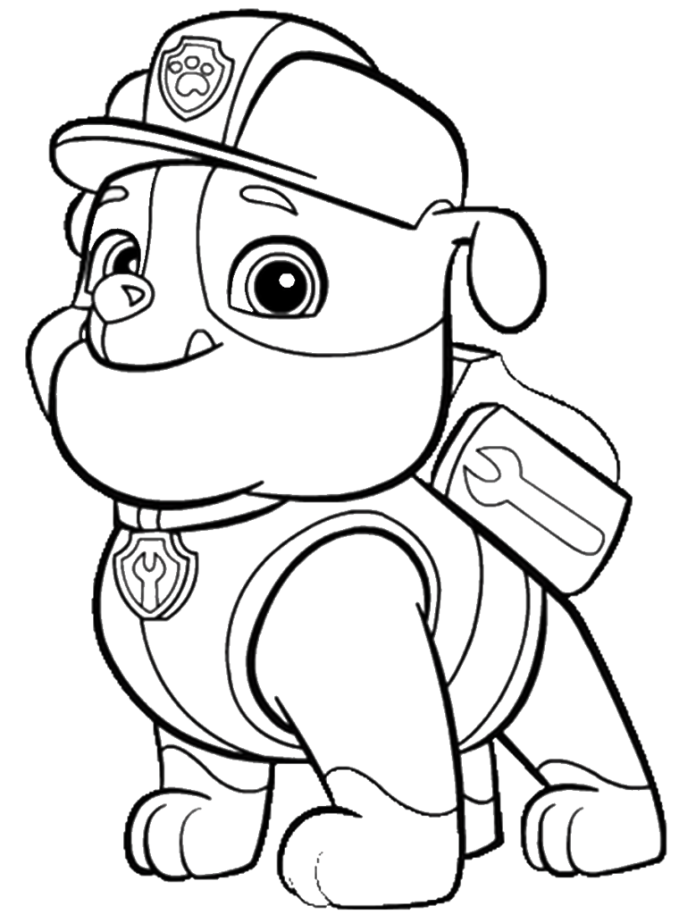 PAW Patrol Coloring Pages 21