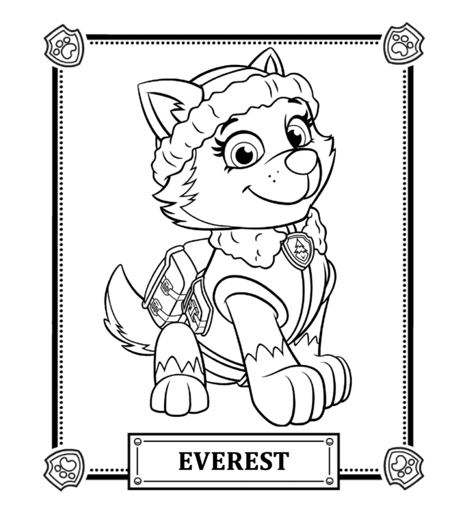 PAW Patrol Coloring Pages 22