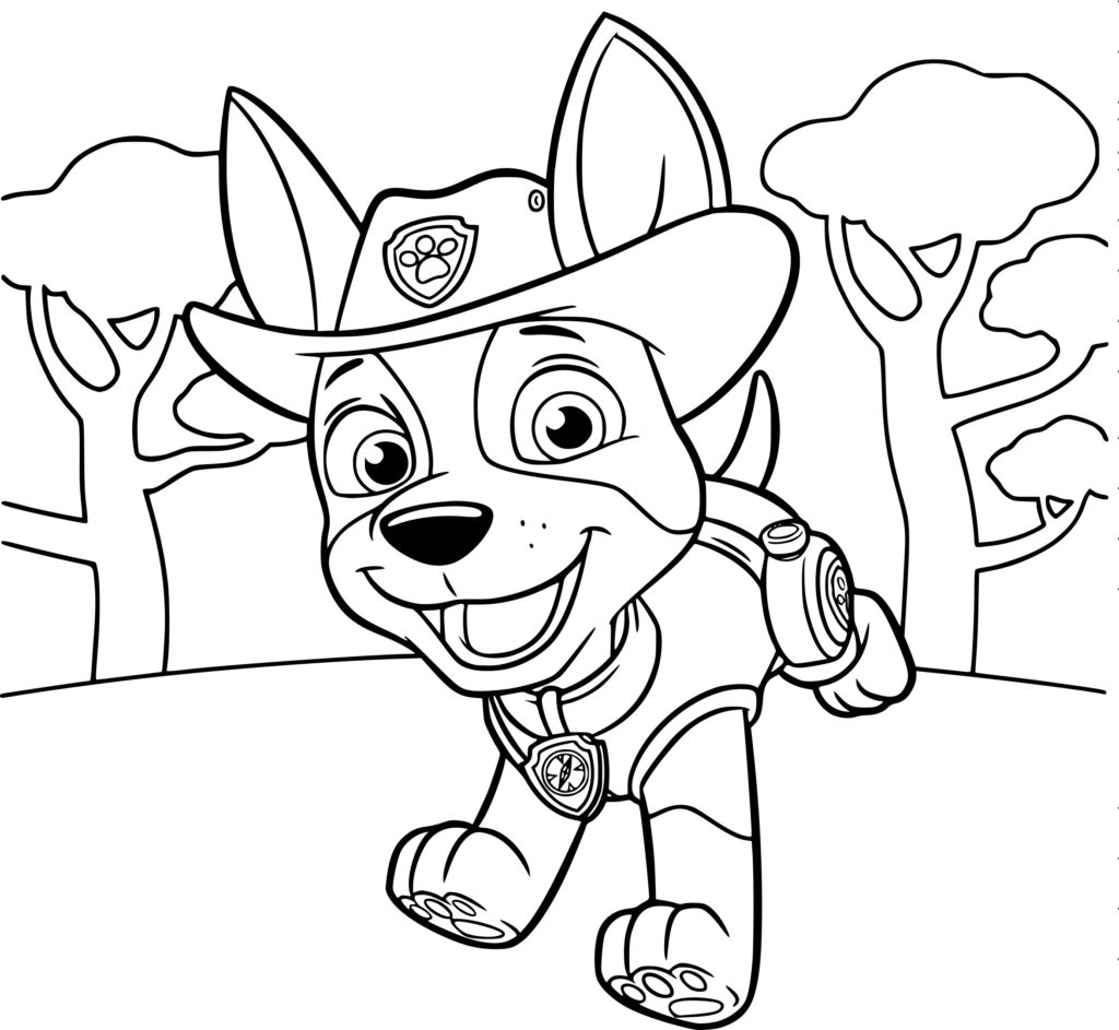 PAW Patrol Coloring Pages 27