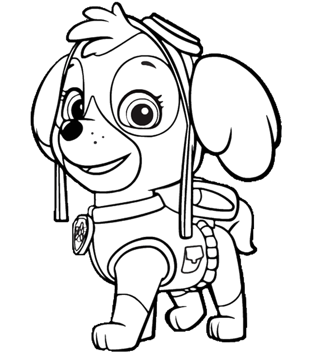 PAW Patrol Coloring Pages 2 - Print Color Craft