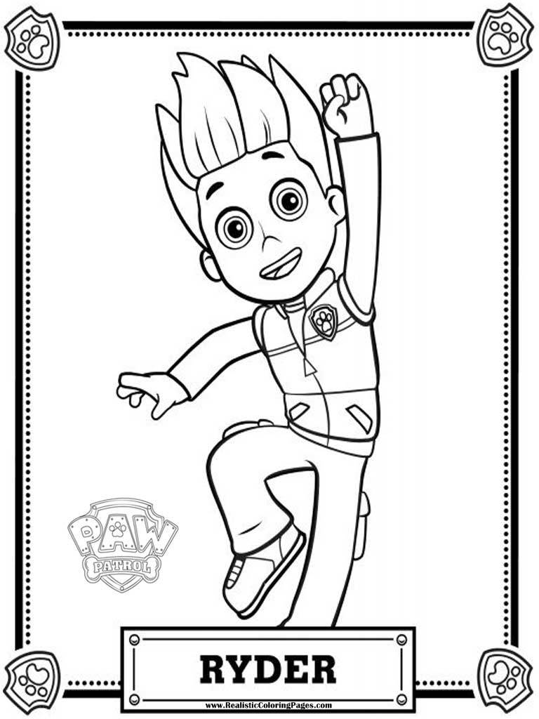 PAW Patrol Coloring Pages Printable 12