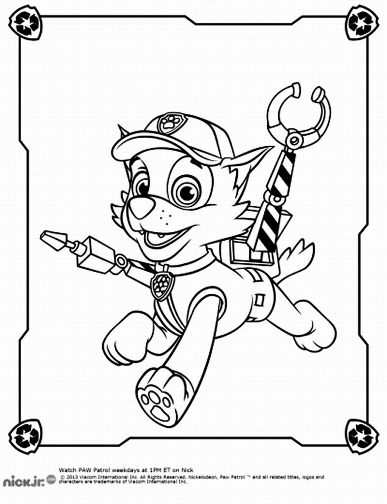 PAW Patrol Coloring Pages Printable 18