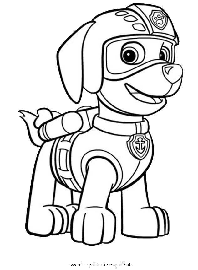 PAW Patrol Coloring Pages to Print 6