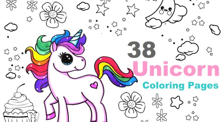 48 Adorable Unicorn Coloring Pages For Girls And Adults Print And Color
