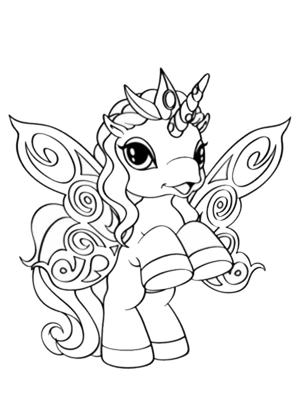 48 Adorable Unicorn Coloring Pages for Girls and Adults ...
