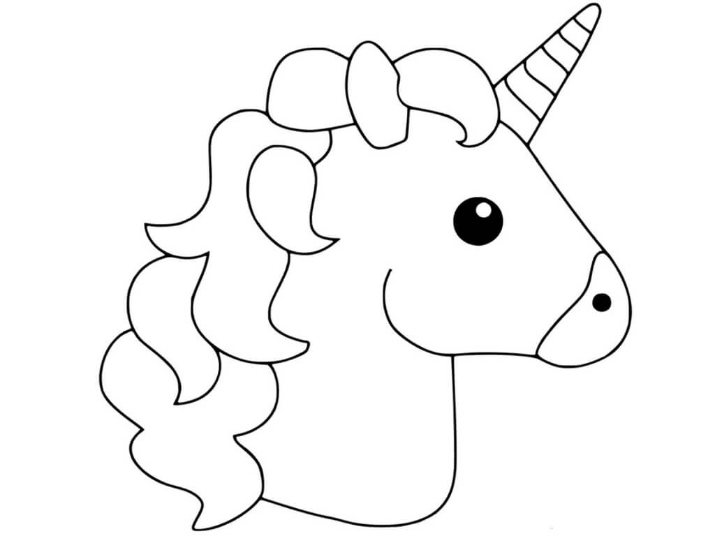 Magical unicorns emoji unicorn coloring pages