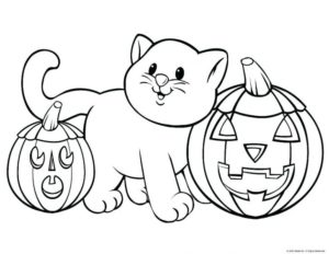 117 Spooky & Cute Halloween Coloring Pages for Kids and Adults