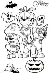 #117 Spooky Halloween Coloring Pages: Updated 2019