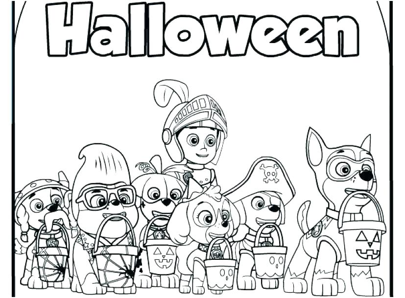 31 Paw Patrol Characters Coloring Pages - Free Printable Coloring Pages