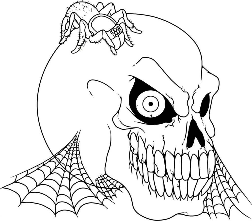 Fall Halloween Pumpkin Coloring Pages for Kids - Print Color Craft | 898x1024