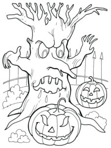117 Spooky Halloween Coloring Pages For All Age Groups