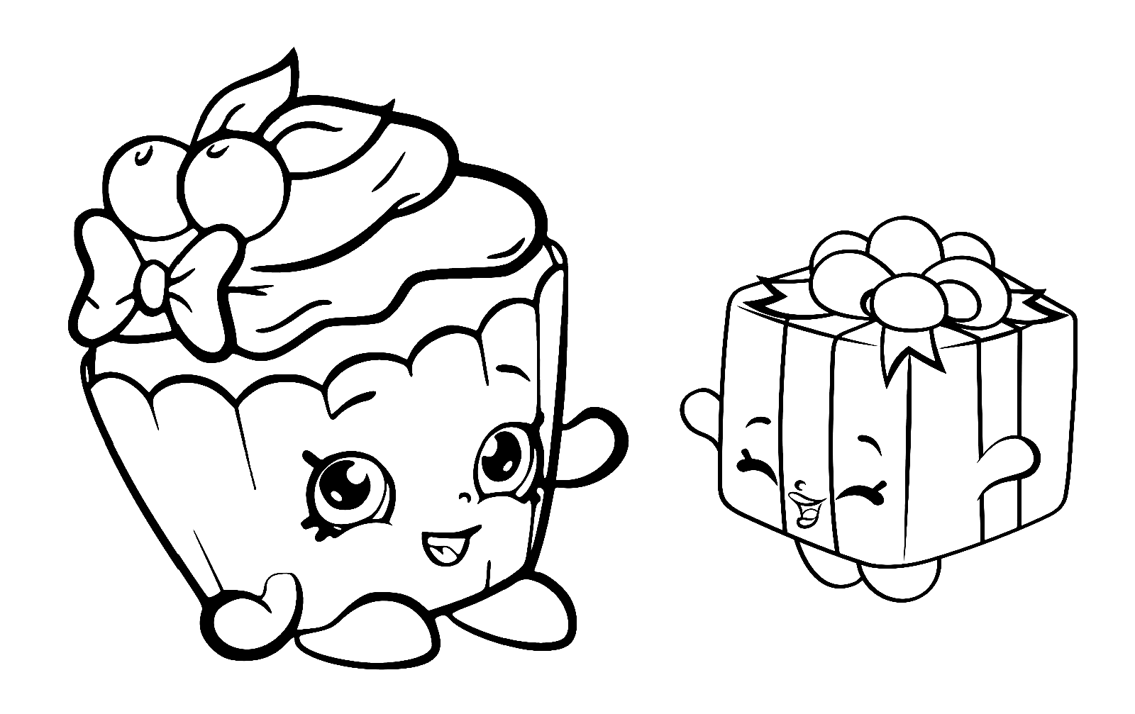 Printable Shopkins Mini Toys Coloring Pages