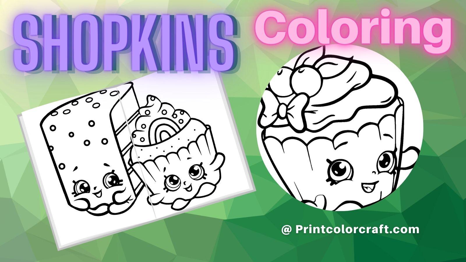 Shopkins Coloring Pages at Printcolorcraft.com